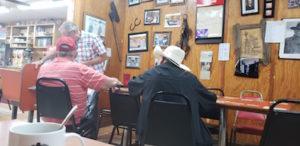 Kilgore Locals Meeting At Circle Cafe